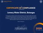 FOI 2020 Certificate